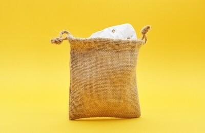 Hessian Bag Super Fine 12 x 12 cm (each)