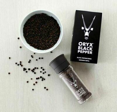 Oryx Black Pepper Grinder 50g (ea)