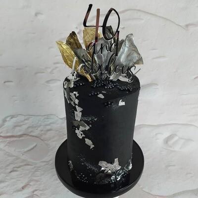 Bespoke Vinyl Cake Board 9