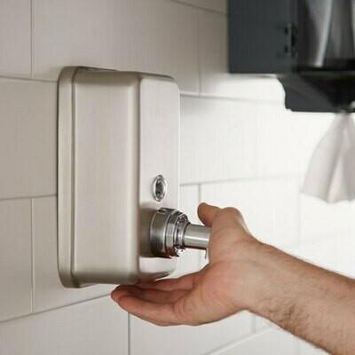 Soap Dispenser 1.2L Stainless Steel (ea)
