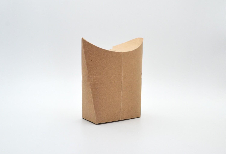 Box Standing Pillow/Shawarma Kraft 10 x 4.5 x 12cm (each)