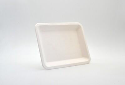 Sugar Cane Deli Food Tray 20x15cm White (Qty50)