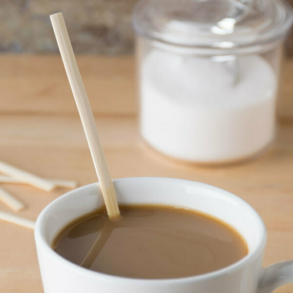 Cutlery Bamboo Coffee Stirrers 19cm (1000)