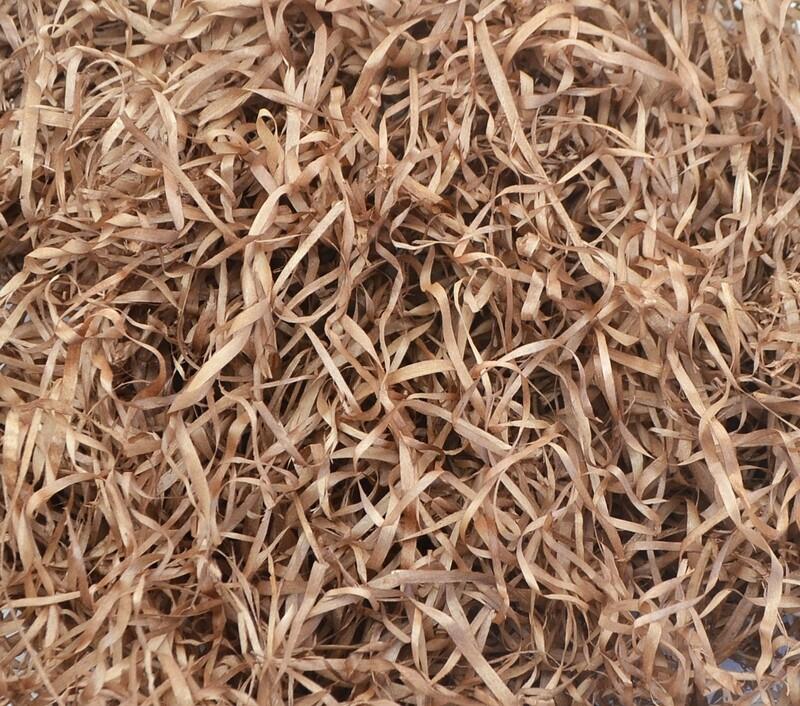 Wood Wool 100g Fine - Brown