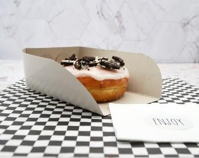 Cake Box Scoop Medium 17x10x6cm White (Qty 100)