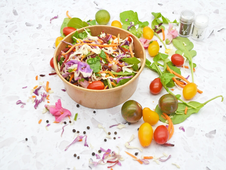 Paper Salad Bowl Kraft 26oz (800ml)