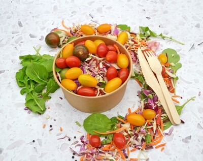 Paper Salad Bowl Kraft 32oz (1000ml)