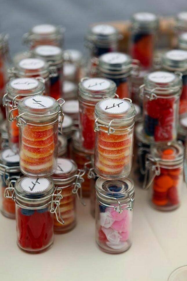Glass Jar Metal Clip Top (each)