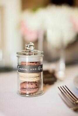 Glass Jar mini French (11.5x6cm)