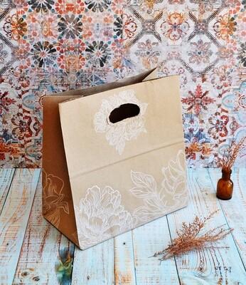 Paper Bag Opol Handle Grace 280x280x150 (Qty 25)