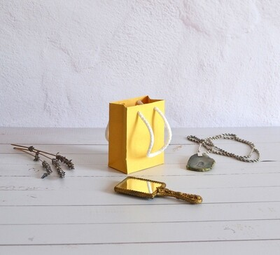 Tiny Rope Handle Paper Bag - Dolly (each)