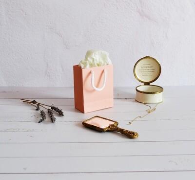 Tiny Rope Handle Paper Bag - Desert sand (each)