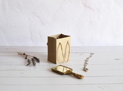 Tiny Rope Handle Paper Bag - Kraft (each)