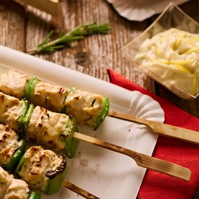 Skewers Bamboo Teppo 150mm (100pc)