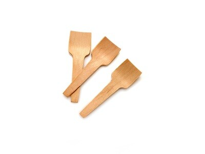 Cutlery Wooden Ice Cream Paddle Small 70mm (100)