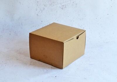 Cake Box Eco Brown 9 x 9 x 6 (each)