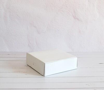 Cake Box 6 x 6 x 2 White (ea)