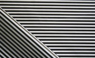 Tissue Paper - Candy Stripe - Black On White (Qty 25)