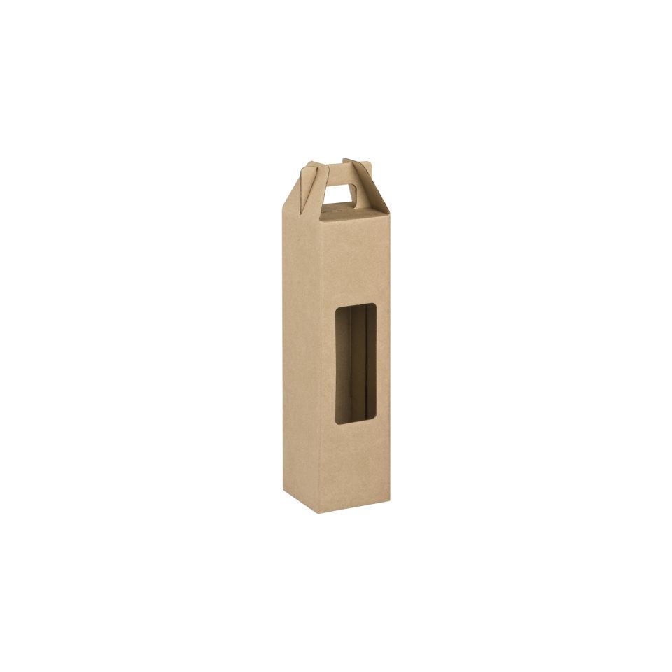 Box Corrugated Bottle Pack 1 - Kraft (each)