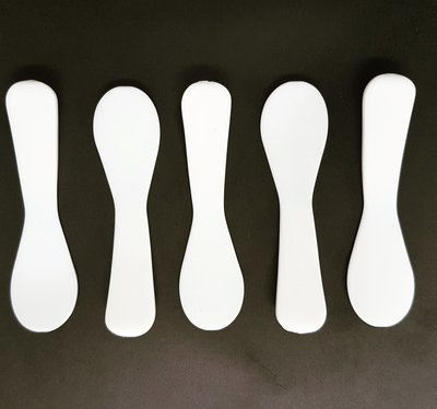 Catering Spoon Mini Spatula White (Qty 50)