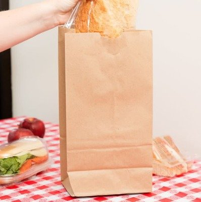 Paper Bags SO 8 Brown - 165x102x301mm (Qty 50)