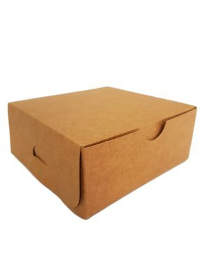 Cake Box Eco Brown 5 x 5 x 2.5