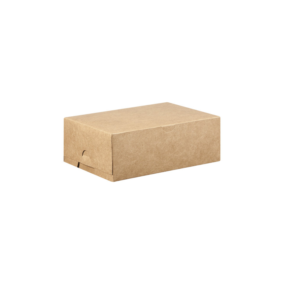 Cake Box Eco Brown 7 x 5 x 2.5