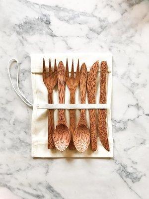 Coconut Cutlery Set