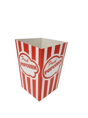 Box Popcorn Red Stripe Small (each)