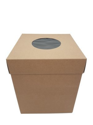 Cake Box Corrugated Kraft 8