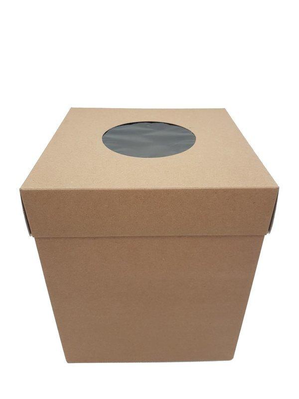 Cake Box Corrugated Kraft 8