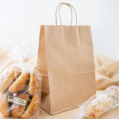 Paper Bags Twist Handle Handy Kraft (Qty 25)