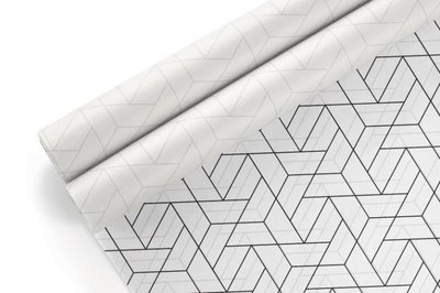 Tissue Paper-Retail Gift Pack Geometric 2 (Qty 5)