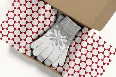 Tissue Paper-Retail Gift Pack Geometric 3 (Qty 5)
