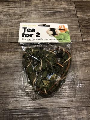 Tea Time Heart/ Wreath Natural Chew
