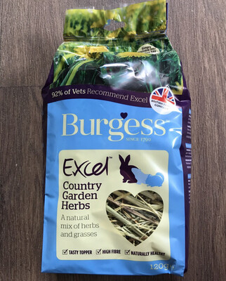 Burgess Excel Forage Country Herb 120g