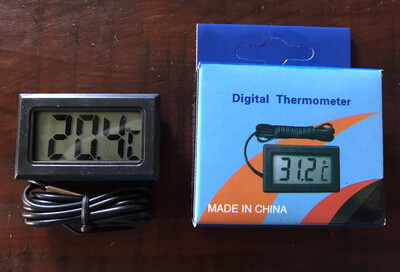 Digital Thermometer With Long Lead And Sensor RRP £8.99