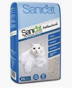 Cat Litter Kitty Friend Sanicat Antibacterial 25l