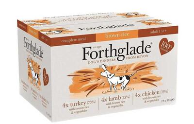 Forthglade Pack 12 Multitray Turkey, Lamb & Chicken