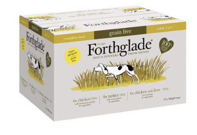Forthglade Multipack Chicken, Turkey, Chicken With Liver 12 Pack