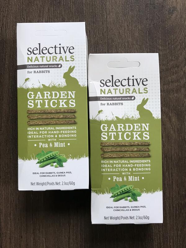 Selective Naturals Pea And Mint Garden Sticks