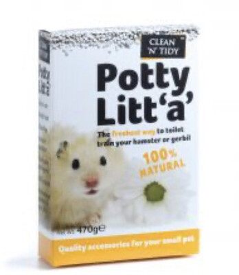 SA Clean N Tidy Potty Litta 470g Hamster Gerbil Mouse