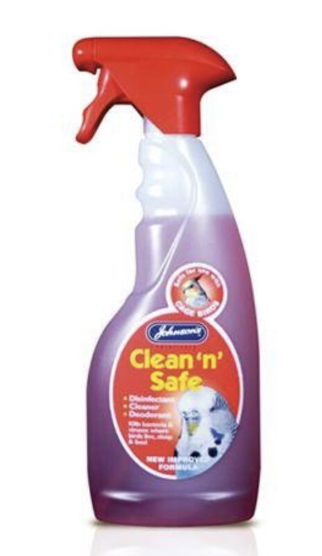 Johnson's Clean N Safe Disinfectant Bird 500ml