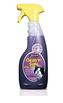 Johnson's Clean And Safe Cat