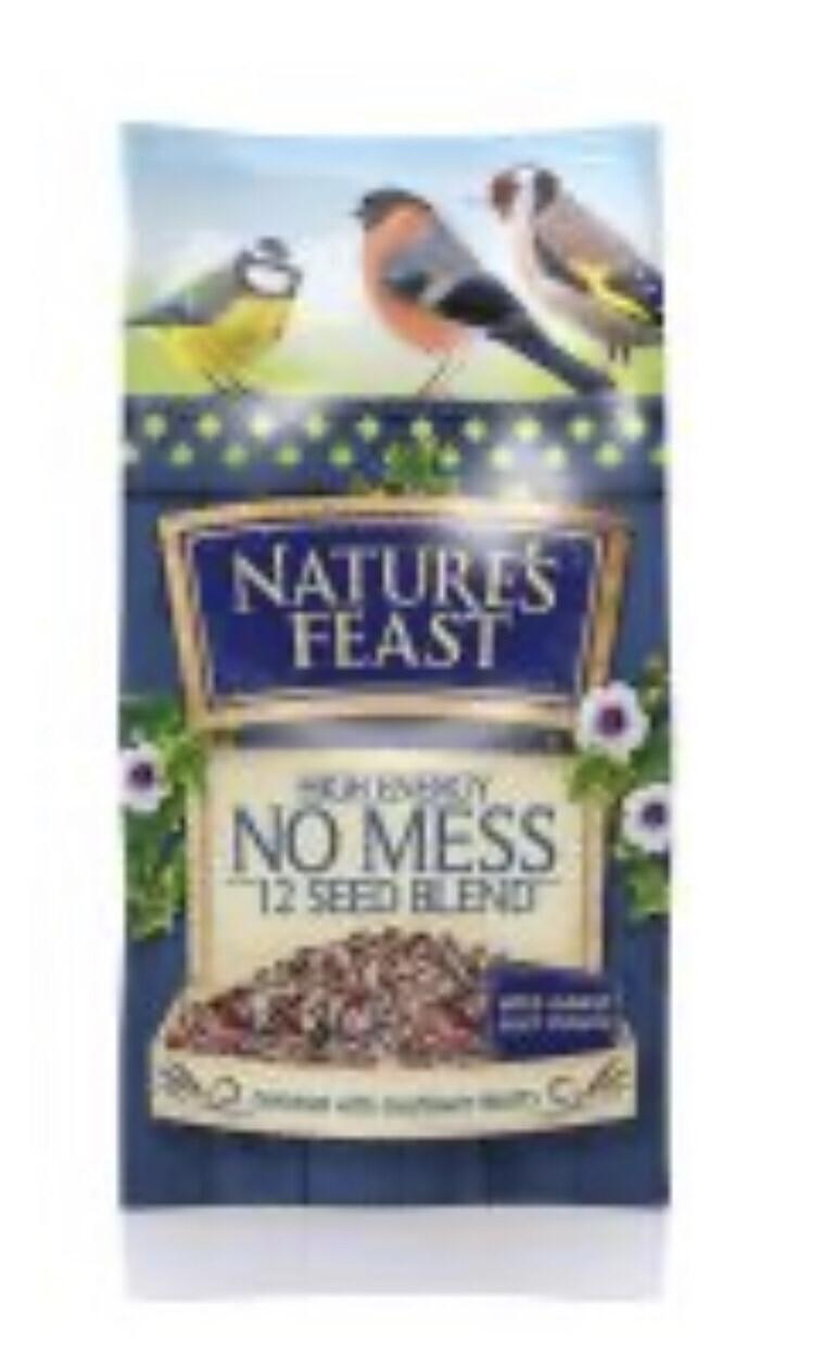 Garden Bird Natures Feast High Energy 12 Seed Mix Food 1kg