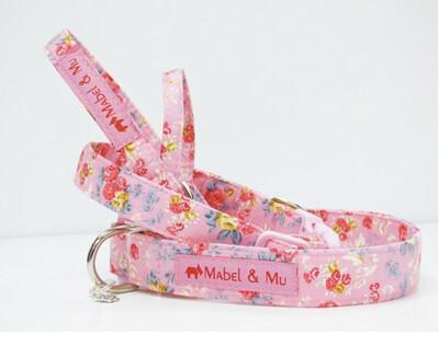 Mabel And Mu Designer Collar. Rosie Size 3