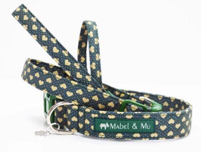 Mabel And Mu Love Me Collar Size 2