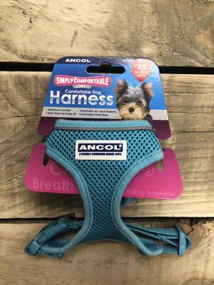 Ancol Comfort Mesh Harness Teal XS RRP £10.50