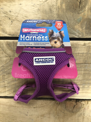 Ancol Comfort Mesh Harness Purple XS RRP £10.50