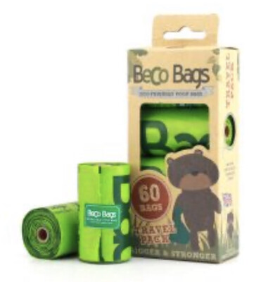 Beco Biodegradable Poo Bags 60